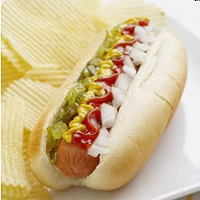 Hot dogs have gluten too!