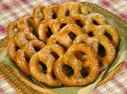Pretzels contain gluten